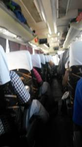 On bus to Lilongwe