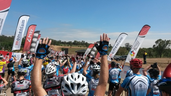 Momentum947 cycle challenge start