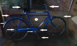 Frans bike labels